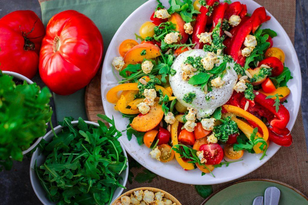 Exemple entrée avec légumes