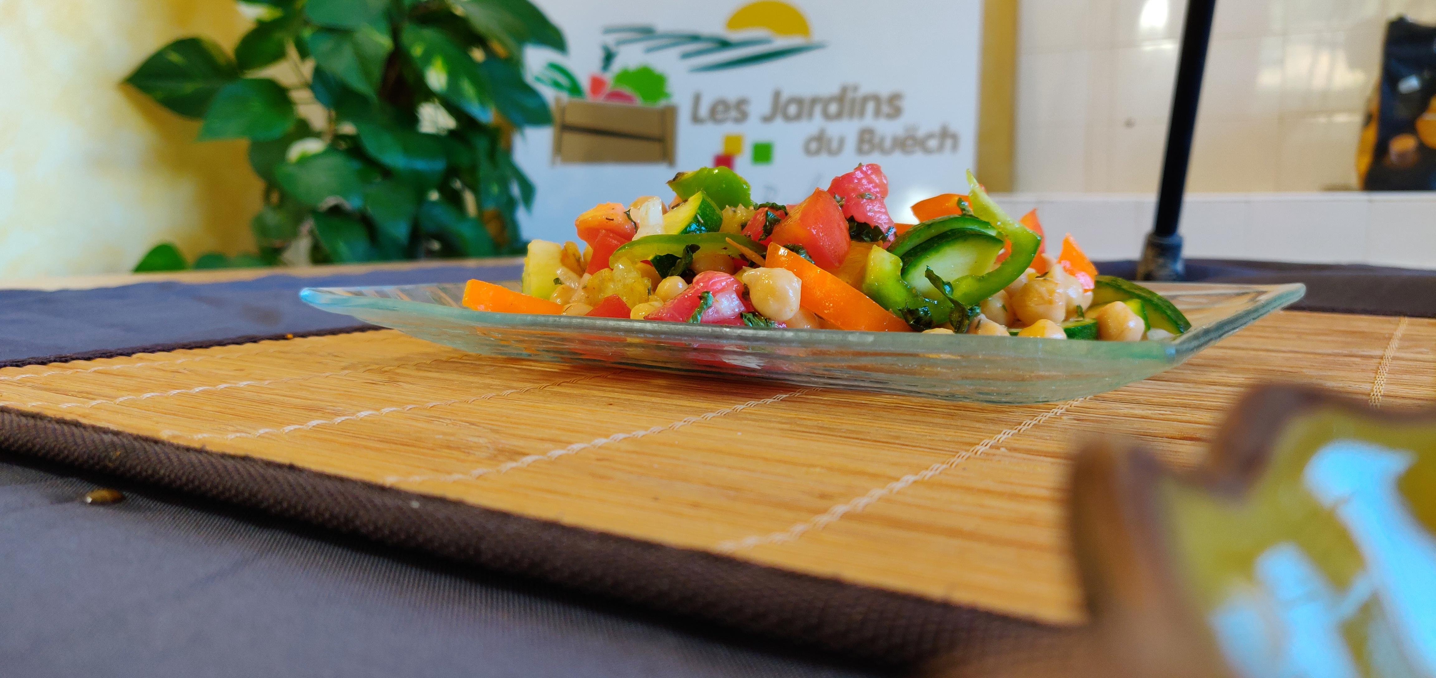 Salade Méditerranéenne de côté