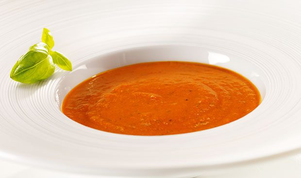 Soupe courgettes - tomates