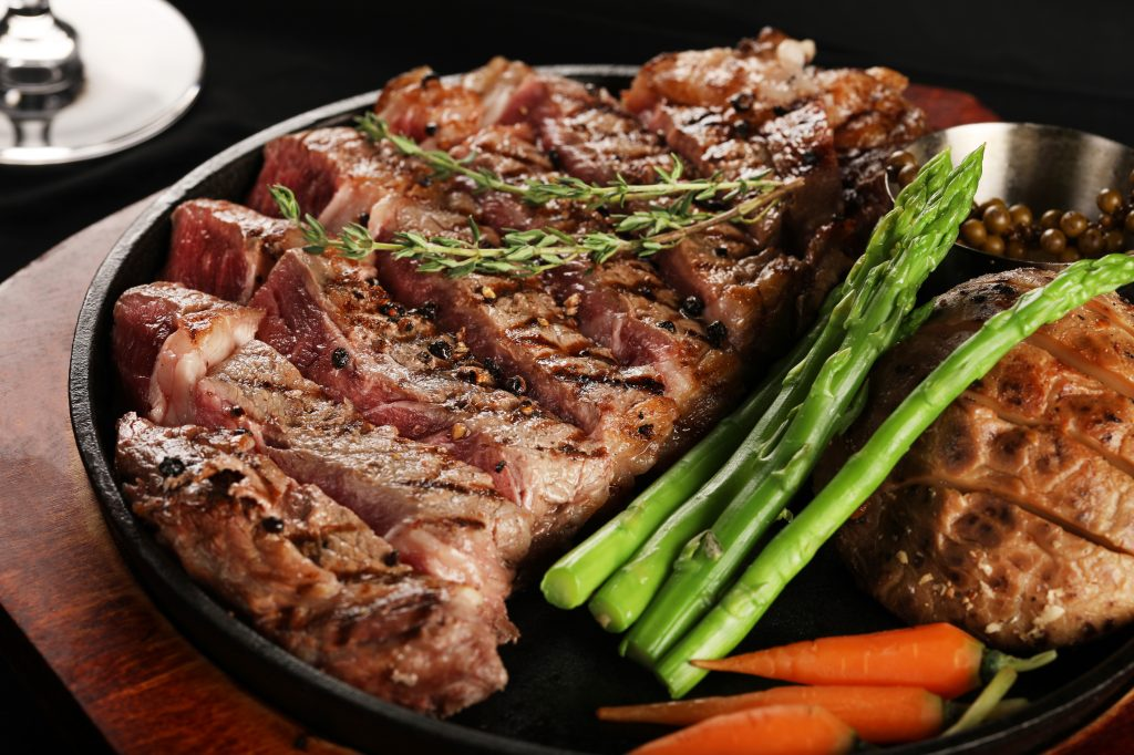 Exemple viande et légumes