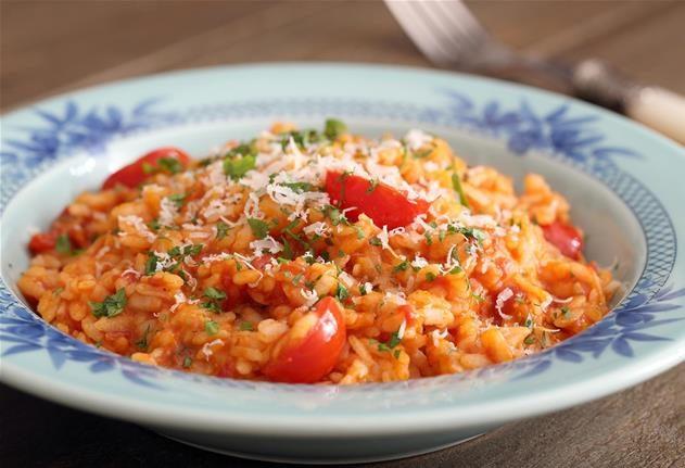 risotto tomates parmesan