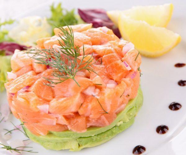 tartare saumon avocat