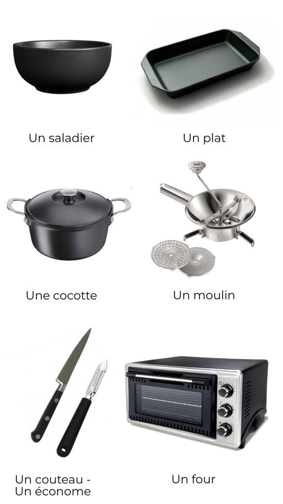 Ustensiles - Mousse aux brocolis