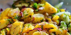 Salade de radis noir et pomme de terre